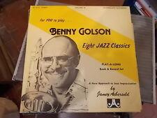 BENNY GOLSON EIGHT JAZZ CLASSICS JAMEY AEBERSOLD LP INTERMEDIATE/ADVANCED