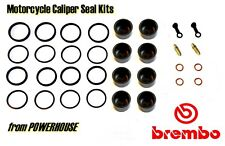 Ducati Brembo Monoblock M4 2 pad Radial front brake caliper piston & seal kit