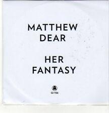 (CZ863) Matthew Dear, Her Fantasy - 2012 DJ CD