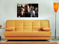 """DAUGHTRY 35""""X25"""" MOSAIC WALL POSTER CHRIS"""