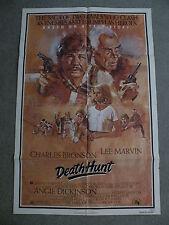 """Death Hunt Charles Bronson, Lee Marvin Poster 1981 27"""" X 41"""" #810073"""
