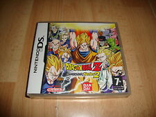 DRAGON BALL Z SUPERSONIC WARRIORS 2 BANDAI PARA LA NINTENDO DS NUEVO PRECINTADO