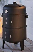 Räucherofen 3in1, zum Räuchern, Grillen und Smoken; Grill, Smoker