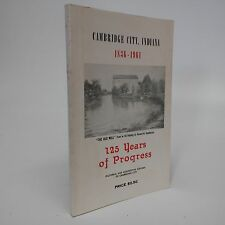 125 years of Progress~Cambridge City, Indiana 1836-1961