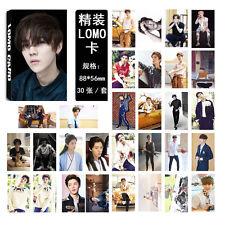 30pcs set Kpop EXO XOXO LUHAN Personal  Lomo Card Photocard Poster