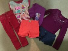 Lot Of Girls Clothes Sz 6 6X Pre-Owned Mixed Brands Osh Kosh Justice