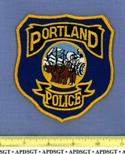 PORTLAND CONNECTICUT Sheriff Police Patch OLD OX DRAWN WAGON