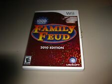 Family Feud -- 2010 Edition (Nintendo Wii, 2009) Comes with Manual