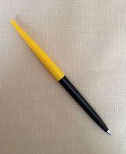 MINT Parker Jotter Desk Pen, Early Model Fine Threads, Yellow & Black