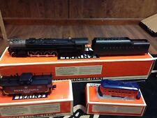 Lionel Pennsylvania RR S-2, 6-8-6 Steam Turbine Train Set TRACKS TRANSFORMER