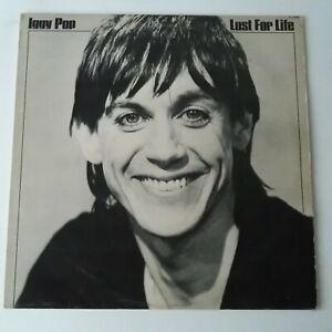 Iggy Pop - Lust For Life - Vinyl LP UK 1st Press 1977 A-1/B-1 IDIOT Lyre EX/EX
