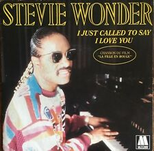 "Stevie Wonder - I Just Called To Say I Love You - Vinyl 7"" 45T (Single)"
