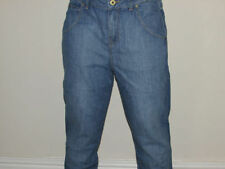 Denim Tapered, Carrot Ripped, Frayed Jeans for Women
