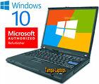 Ibm Laptop Lenovo Windows 10 Win Intel Computer Wireless Wifi Dvd Notebook Pc