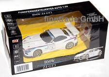 RC BMW Motorsport Z4 GT3 FUNKferngesteuert 1:24 LED Scheinwerfer 40 MHZ NEU OVP