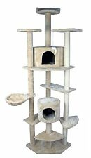 """HIDING Cat Tree™ 79"""" Play House Condo Furniture Bed Tower Scratch Post Pole"""
