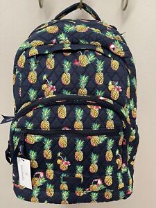 Vera Bradley Essential Large Backpack in Toucan Party NWT - MSRP $149