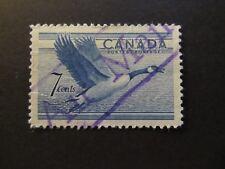 1952 - CANADA - CANADA GOOSE - SCOTT 320 A136 7C (1)