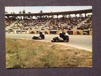 Ansichtskarte Hockenheim, Motodrom, Rennstrecke, Rennsport, Echtfoto um 1965
