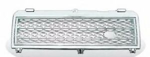 Front Bumper Grille Chrome & Silver for LAND ROVER RANGE ROVER L322 2003-2005