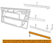 AUDI OEM 96-01 A4 Quattro Front Door-Cover Molding Left 8D0853959B01C