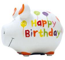 KCG Sparschwein HAPPY BIRTHDAY, Geldgeschenk 18 30 40 50 60 70 80 Geburtstag NEU