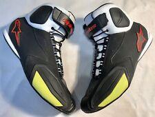 ALPINESTARS FASTER Men's Motorcycle Boots Size UK 10 / EU 44 / US 11