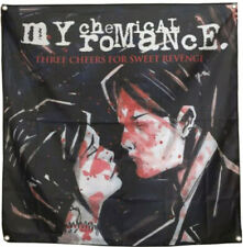 My Chemical Romance Flag Three Cheers For Sweet Revenge Tapestry 4x4ft Poster