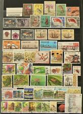 Singapore Lot of 55 Cancelled Stamps Hinged #10818