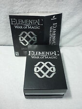 ELEMENTAL: WAR OF MAGIC LIMITED EDITION (PC) GAME LOT SET NEW OPENED BOX