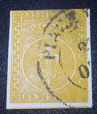 Antichi Stati Parma 5 cent 1853-55 catalogo 1.300 euro