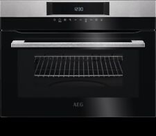 AEG KMK721000M Built In Solo Touch Control 1000w 46L Microwave & Compact Oven
