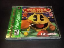 Pac-Man World 20th Anniversary Sony PlayStation 1 1999 NEW SEALED Greatest hits