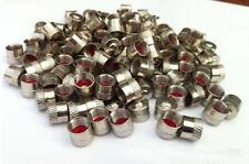 lot de Bouchon Capuchon de valve d'air métal Schrader pour Auto Moto Vélo bmx