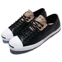 Converse Jack Purcell LP LS Leather Black Khaki White Men Women Shoes 160205C