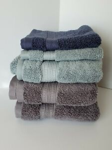 Charisma Luxury 100% Hygro-Cotton Hand & Wash Towel Mixed Lot of 5 Towels