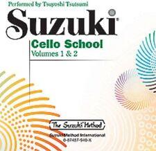 Suzuki Cello School CD 1,2 TSU ,  0940