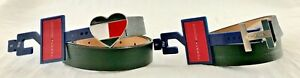 TOMMY HILFIGER BLACK BELTS DIFFERENT SIZES AND BEAUTIFUL DESIGNS BRAND NEW
