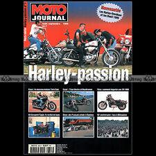 MOTO JOURNAL HS 9808 HORS-SERIE ★ HARLEY-PASSION N°7 1998 ★ XR 1000 TITAN GECKO