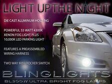 Xenon Foglamps Driving Fog Lights for 2010 2011 2012 Nissan Altima Sedan