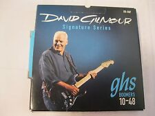 NEW GHS DGF DAVID GILMOUR BOOMERS FENDER ELECTRIC GUITAR ACOUSTIC STRINGS 10-48