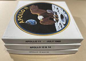 Super-8 Color / B&W Silent NASA Missions: Apollo 11, 12,14,15 & 16. Three 400'.