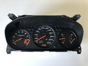 Honda Civic 96-00 SiR EM1 CDM M/T Amber Instrument Gauge Cluster Canadian *RARE*