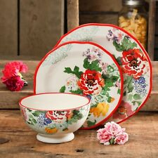 Country Garden 12-Piece Dinnerware Set
