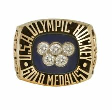 1980 USA OLYMPIC HOCKEY TEAM  CHAMPIONSHIP SALESMAN RING:, TEAM USA