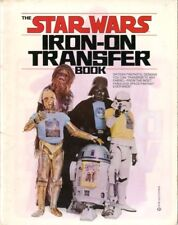Star Wars Iron- on Transfer Book   16 designs that can transfer to any fabric VF