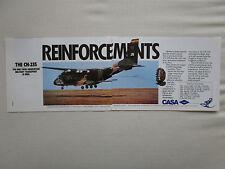 10/1988 PUB IPTN CASA CN-235 MILITARY TRANSPORT AIRCRAFT ORIGINAL AD