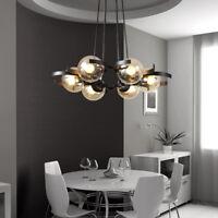 Kitchen Pendant Light Bar Chandelier Lighting Glass Lamp Modern Ceiling Lights