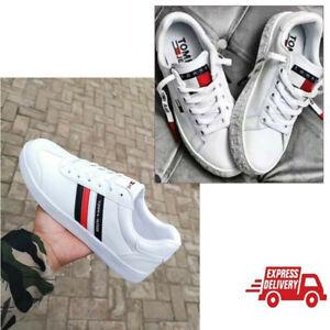 Tommy Hilfiger Low-Top Sneaker Freizeitschuhe Schuhe Herren Damen Gr. 36-44 DHL