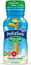 PediaSure Grow & Gain With Fiber, Kids' Nutritional Shake - 24 Pack - Vanilla